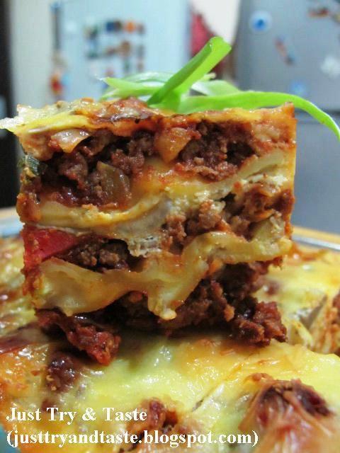 Resep Lasagna Makanan Italia Makanan Dan Minuman Resep Pasta
