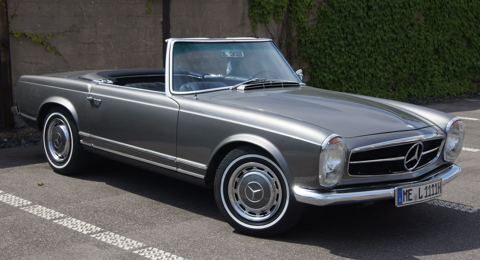 Mercedes benz 230sl pagoda w113 my style or how i for Mercedes benz 230sl