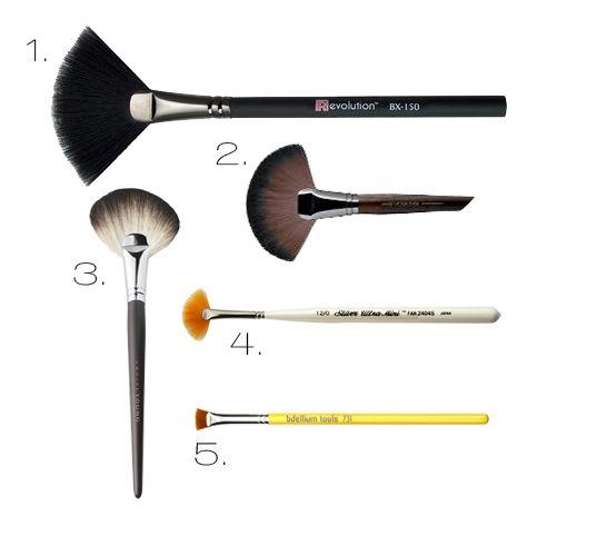 How To Use A Fan Brush Fan Brush Makeup Fan Brush Brush
