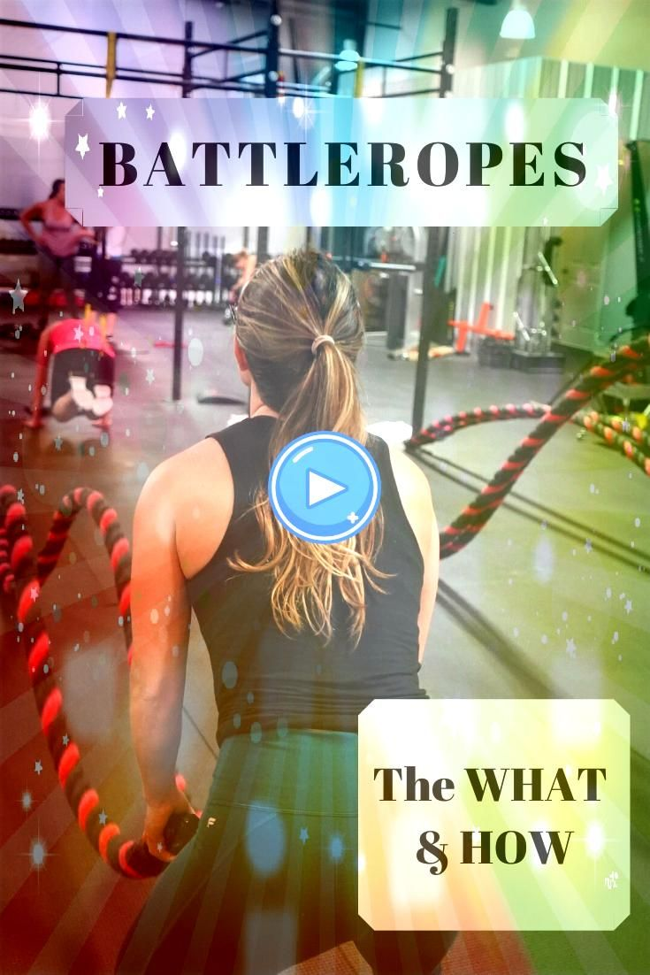 Ropes New Trends at the Old Gym Have you checked out Battle Ropes yet Great for the core  arms New Trends at the Old Gym Have you checked out Battle Ropes yet Great for t...