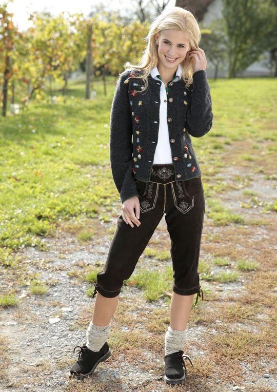 Almsach Lederhose Wiesn Oktoberfest Trachtenmode Heidistrachten