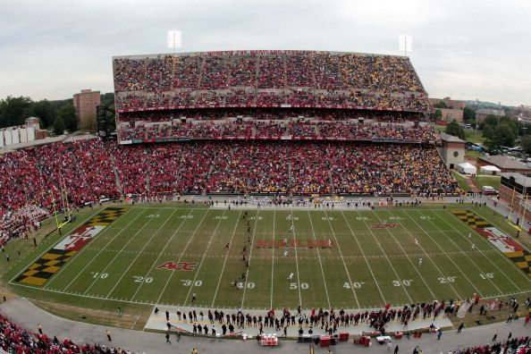 Maryland Football Stadium Google Search Football Stadiums Coastal Carolina Stadium