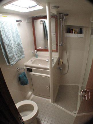 Boat Bathroom Small Bathroom Boat Interior Cabin Cruiser Boat