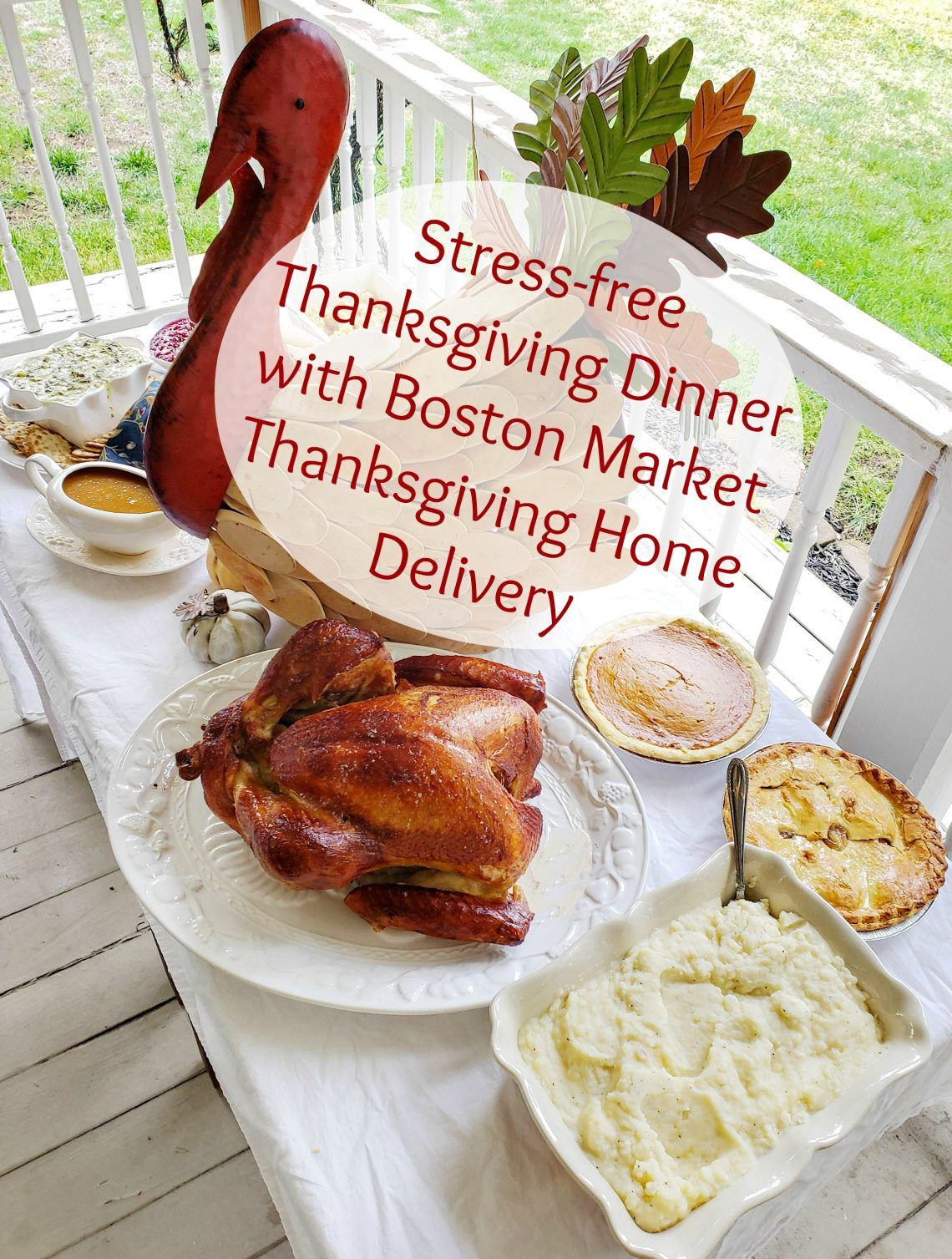 Stressfree Thanksgiving Dinner with Boston Market