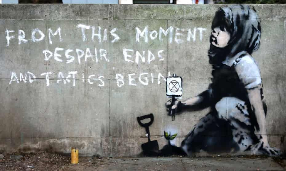London Extinction Rebellion mural is a Banksy, says expert