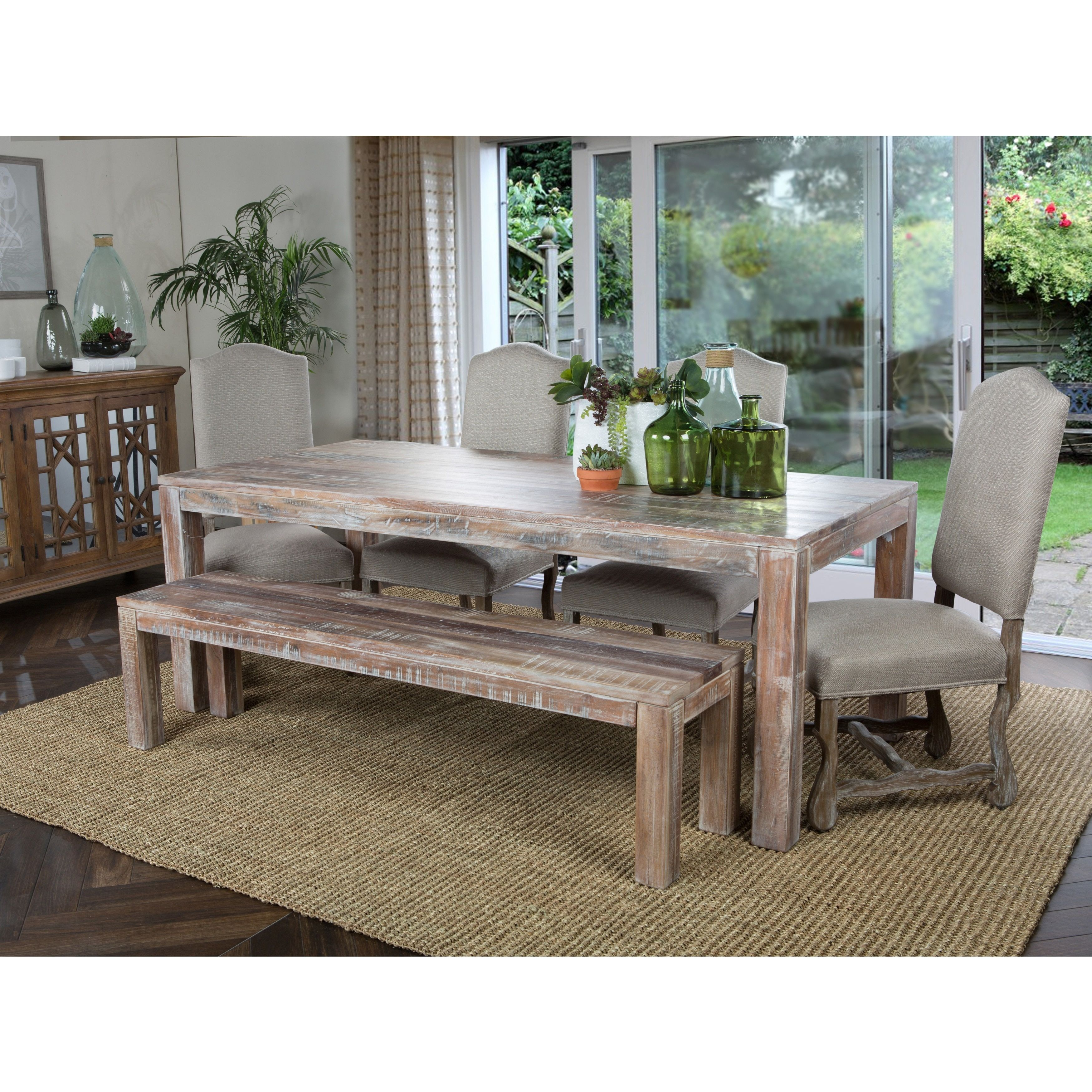 Hamshire Reclaimed Wood 60 Inch Dining Table By Kosas Home Table