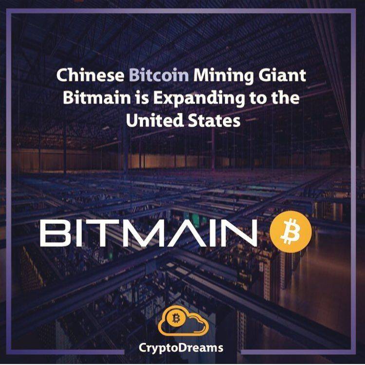 Bitmain is looking to establish a facility in the port of