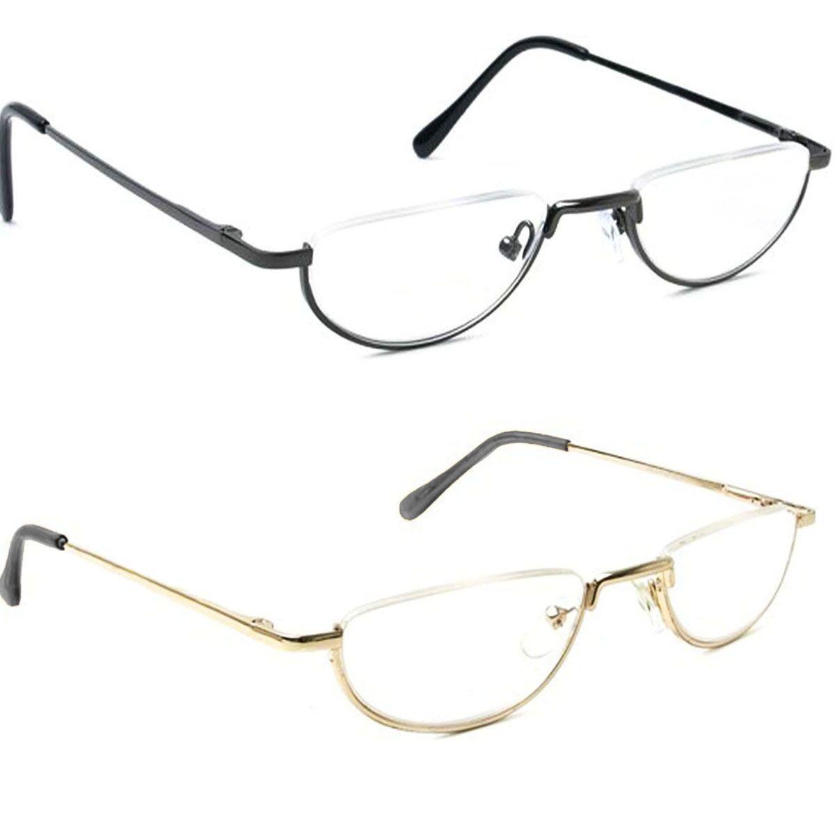 a30020ea26  12.99 AUD - Best Sell Half Moon Rim Vintage Spring Hinge Eyeglass Frames  Reading Glasses  ebay  Fashion