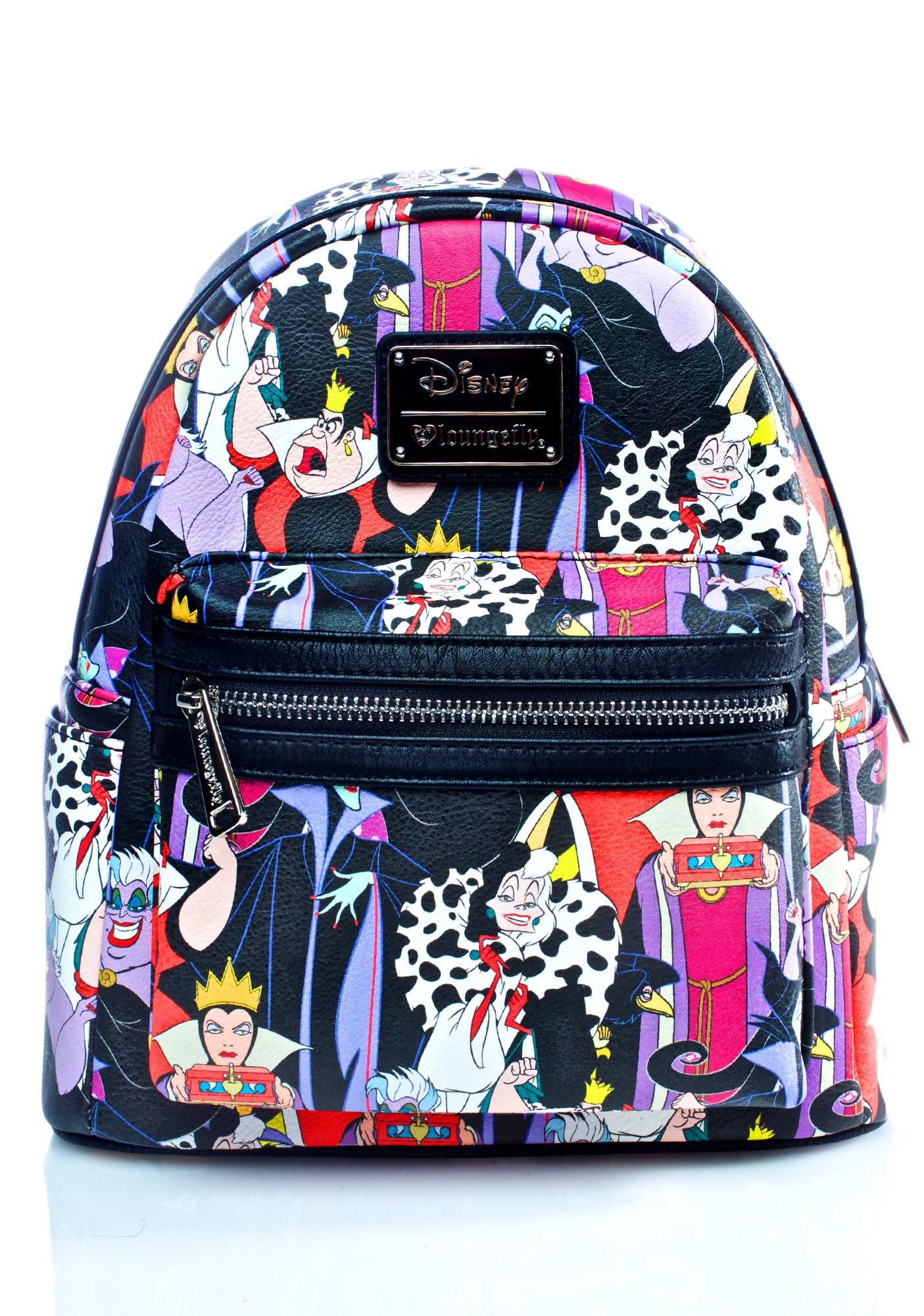 96bf7c33f23 Loungefly X Disney Villains Evil Queens Backpack