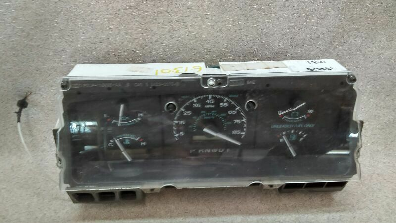 Speedometer Instrument Cluster Fits 92 93 Ford E150 Van Bo 29 169280 Ford Instrument Cluster Automotive Accessories Ebay