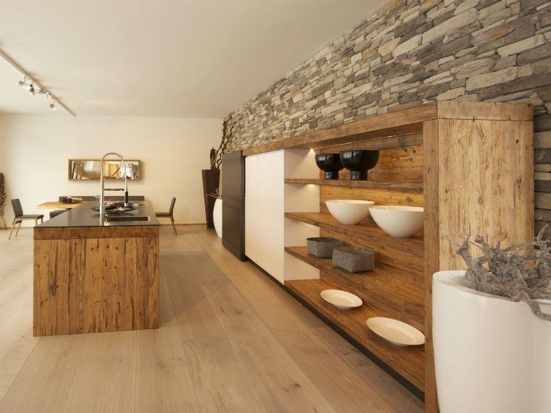 Rustikale Küchen Bilder \ Ideen für rustikale Landhausküchen aus - küche landhaus weiß