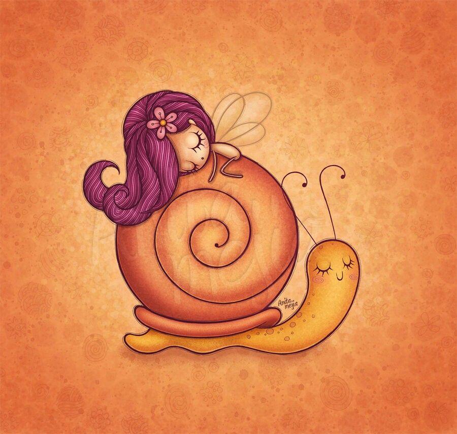 Caracol Caracoles Dibujo Ilustraciones De Dibujos Animados Cosas Lindas Para Dibujar