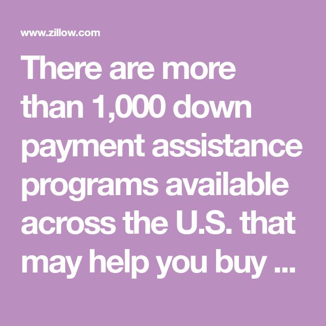 Down Payment Assistance Programs   Down payment, Best ...