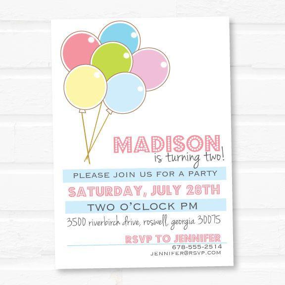 Balloon party invitation google search balloon theme party balloon party invitation google search colorful birthday partythemed filmwisefo