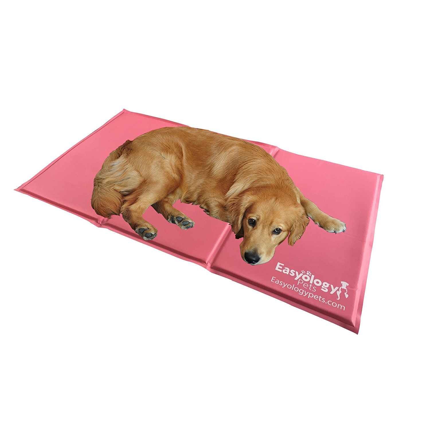 Jumbo Pet Cooling Mat Cold Gel Pad For Cats And Dogs Best For Keeping Large Pets Cool Perfect Size For Couch Fits The Easyology Pet Cooling Mat Cat Bed