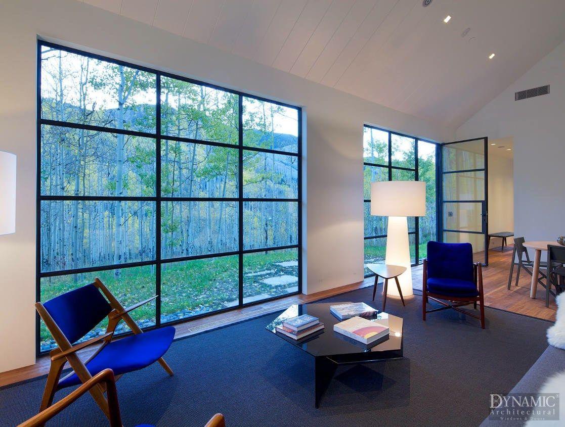 Modern Steel Window Wall Dynamic Architectural Windows