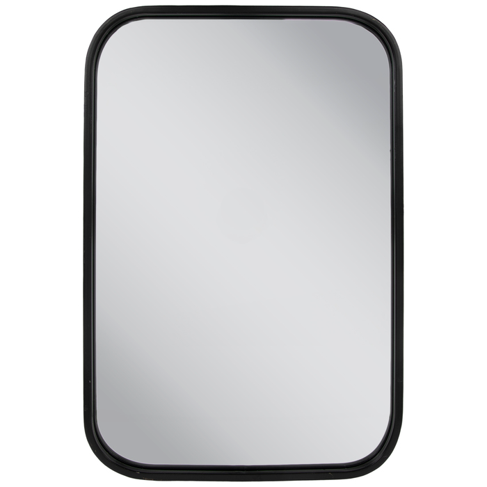 Black Rounded Rectangle Metal Wall Mirror Hobby Lobby 1810704 Mirror Wall Wall Mirror Online Black Mirror Frame