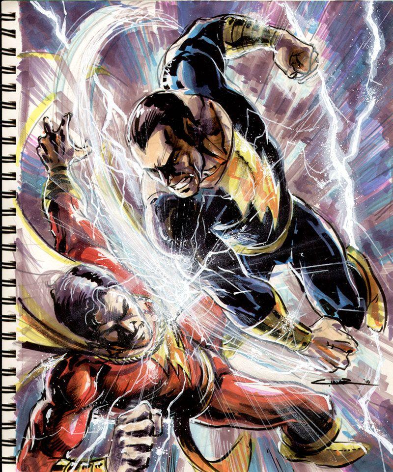 Sketch 40:Marvel Vs. Adam By Cinar.deviantart.com On
