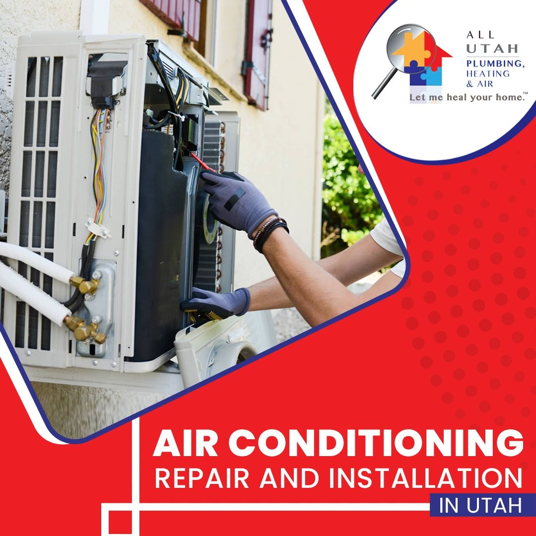 All Utah plumbing heating and air company can help you