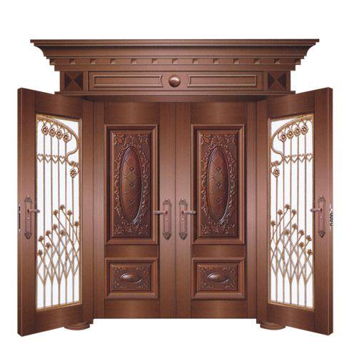 2015 Solid Wooden Apartment Room Door / Spain Cheap Teak ...