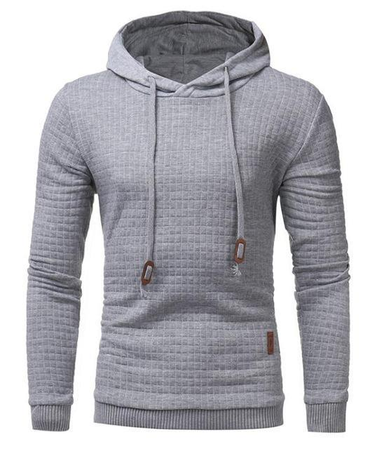 32549406 WEEKLY DEAL - Men's Goose Pullover Cotton Quilt Hoody   Clothes ...