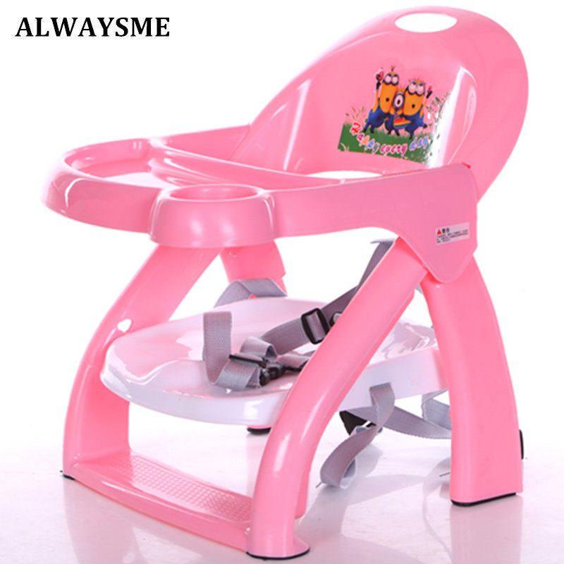 Chaise Haute Bebe Portable Pliable ALWAYSME Enfants Sur Et Confortable