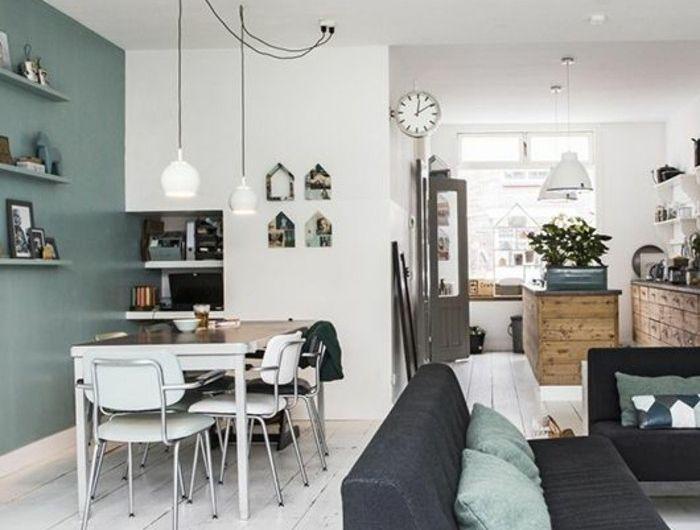 45 Super Ideen für farbige Wände   Wohnung gestalten ...