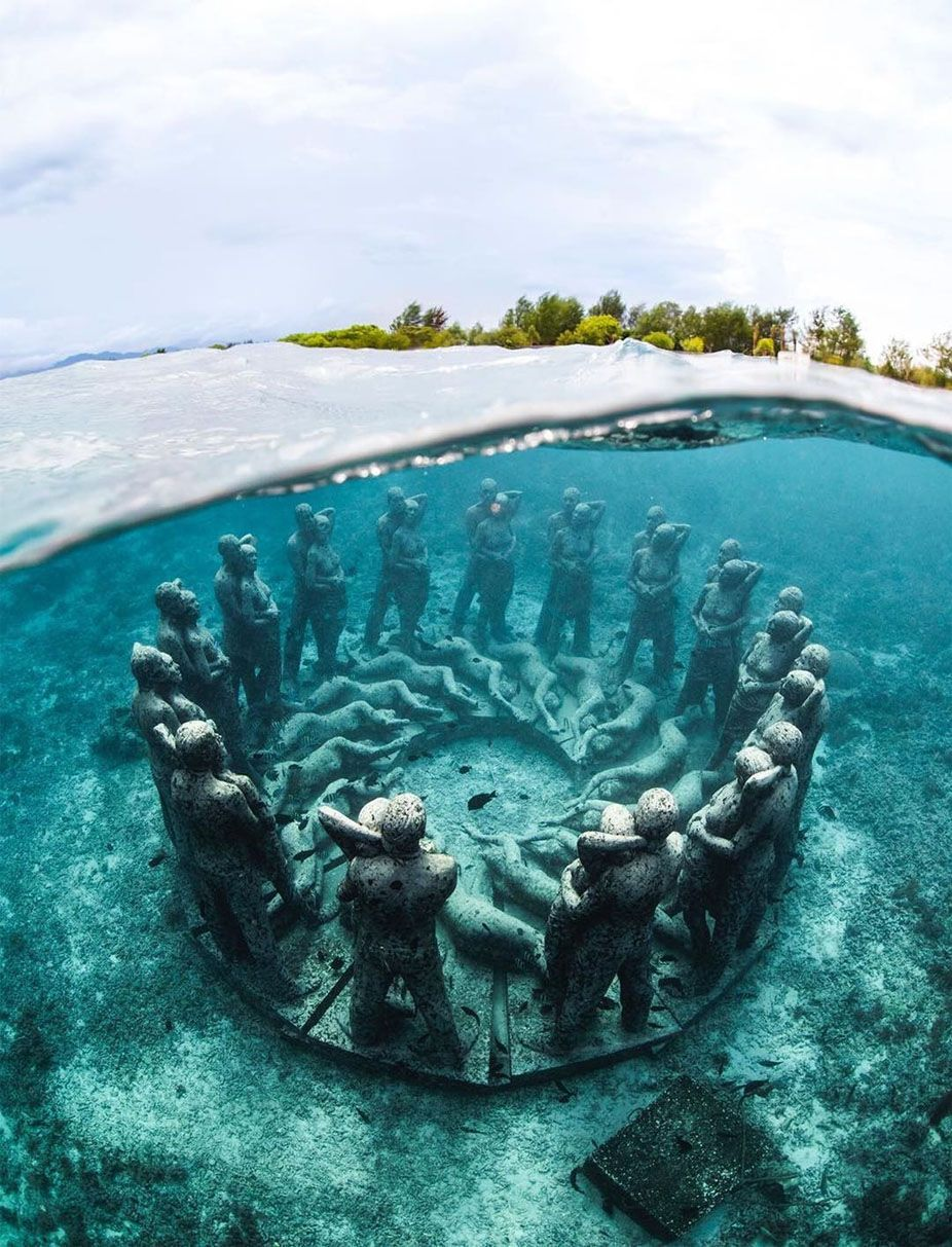 This Ancient Underwater World Trawangan Indonesia