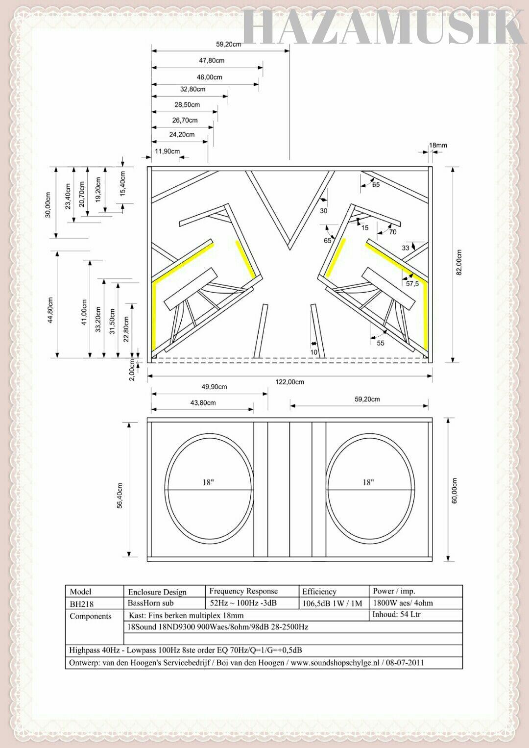 Gambar Skema Terbaru Box Speaker 18x2 Subwoofer Lapangan Dengan Mini Kulitas Kualitas Suara Yang Bagu Dan Lontaran Jauh