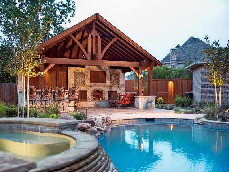 Dallas Landscape Architects Outdoor Kitchens Fireplaces Dallas Mckinney Richardson Decks Sta Backyard Seating Area Backyard Pool Designs Outdoor Kitchen