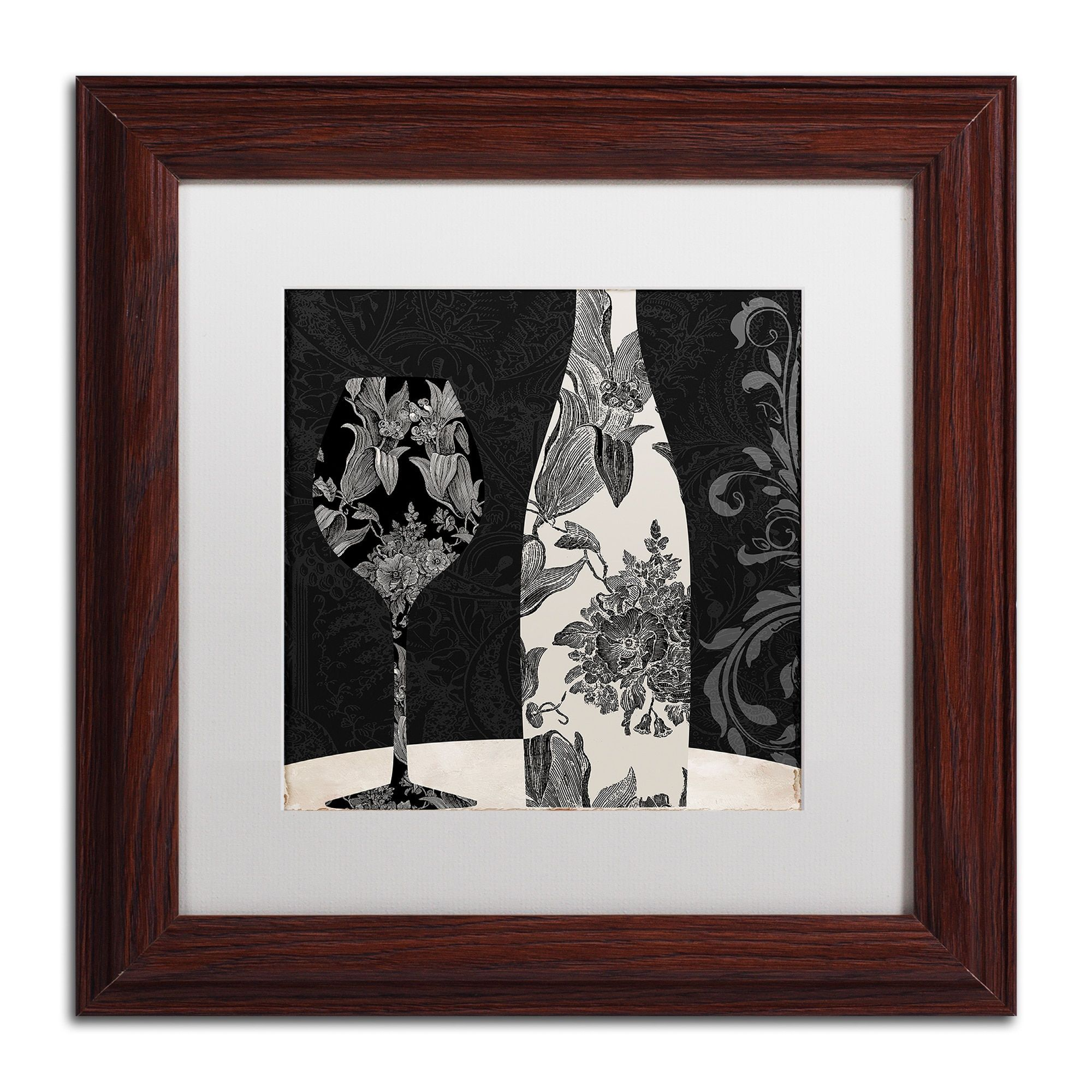 Color bakery uvin elegant iu matted framed art products