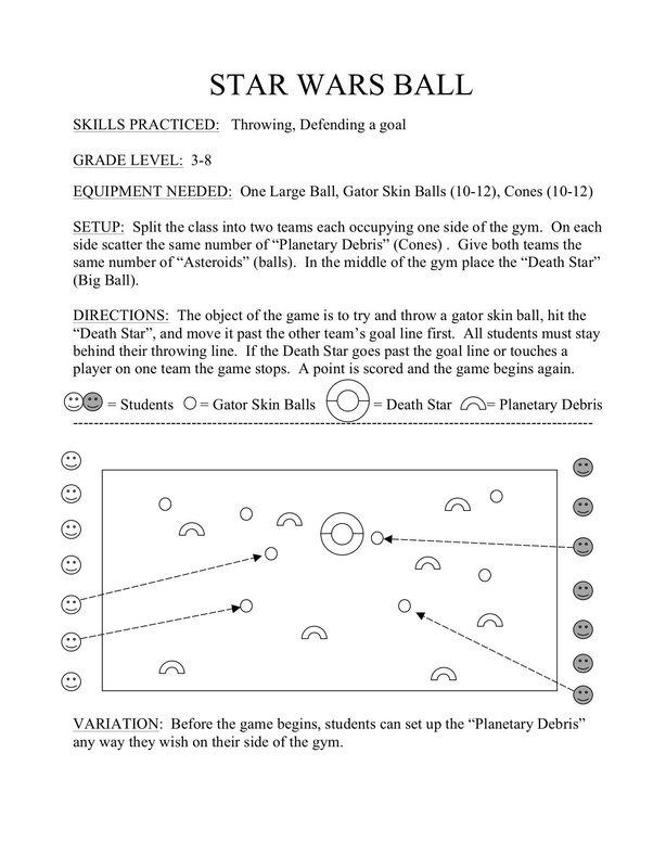 DODGEBALL ALTERNATIVES PE Games and Activities Pinterest - physical education lesson plan template