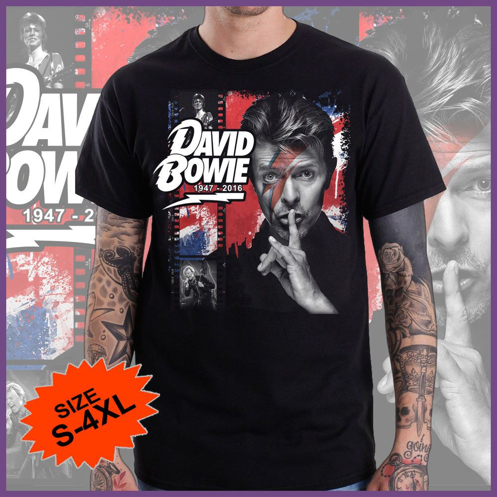 Shirt rip design - David Bowie Rip T Shirt Tshirt Tee Custom Design Limited S 4xl Handmade