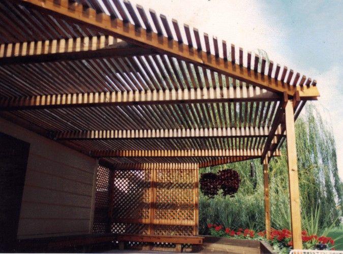 Pergola Overhead Shade Structures