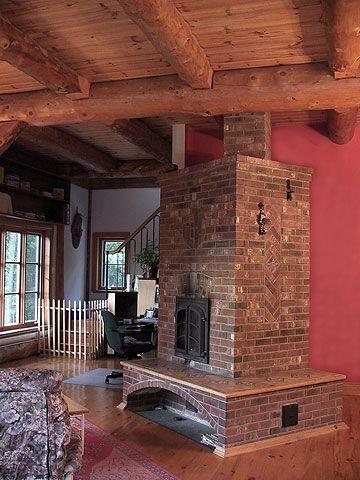 foyer de masse et poele a accumulation poele de masse inertie chaufffage bois non polluant. Black Bedroom Furniture Sets. Home Design Ideas