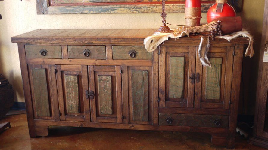 Download Rustic Dining Room Hutch  Gen4Congress  Rustic Mesmerizing Dining Room Buffet Hutch Design Decoration