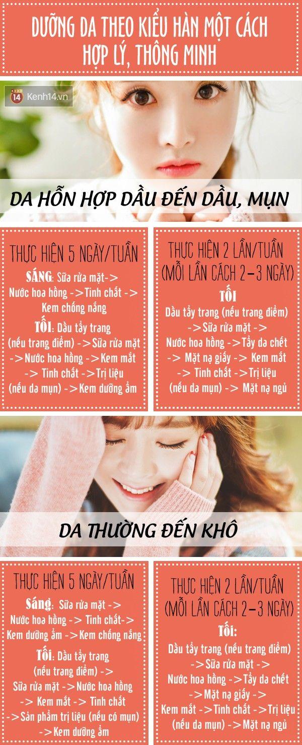 Mổ Xẻ 10 Bước Dưỡng Da Thần Thánh Của Các Bạn Hàn Quốc Spa