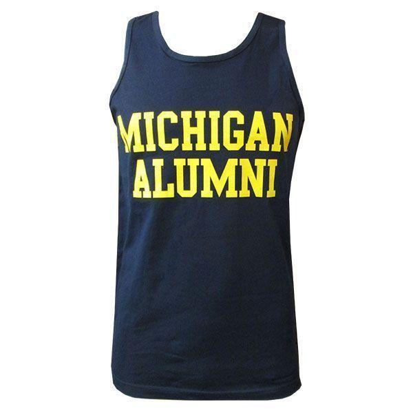Michigan Alumni Tank - Navy