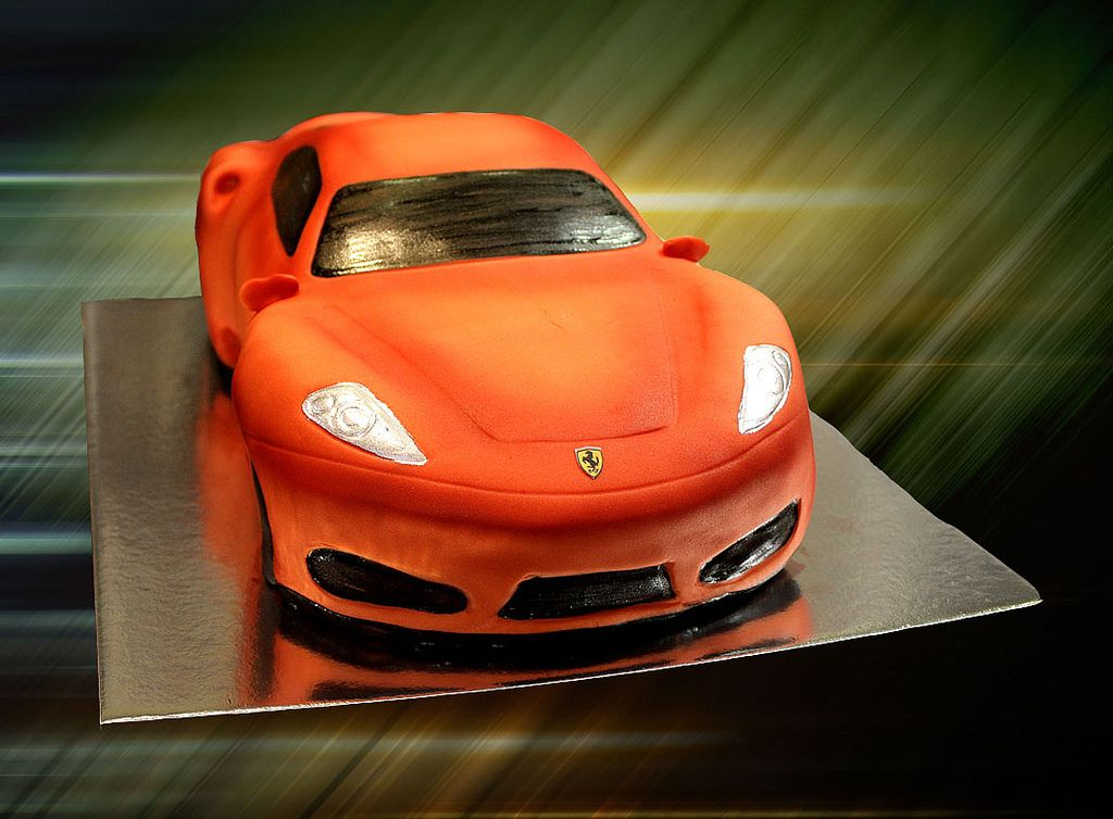 Ferrari Car Cake Car Cake Cars Cake Design Ferrari Car