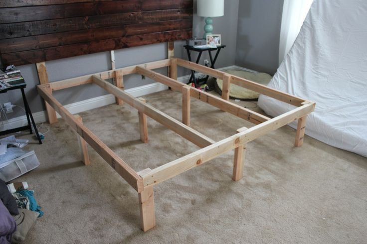Diy Box Spring Alternative Google Search Diy King Bed Diy Bed