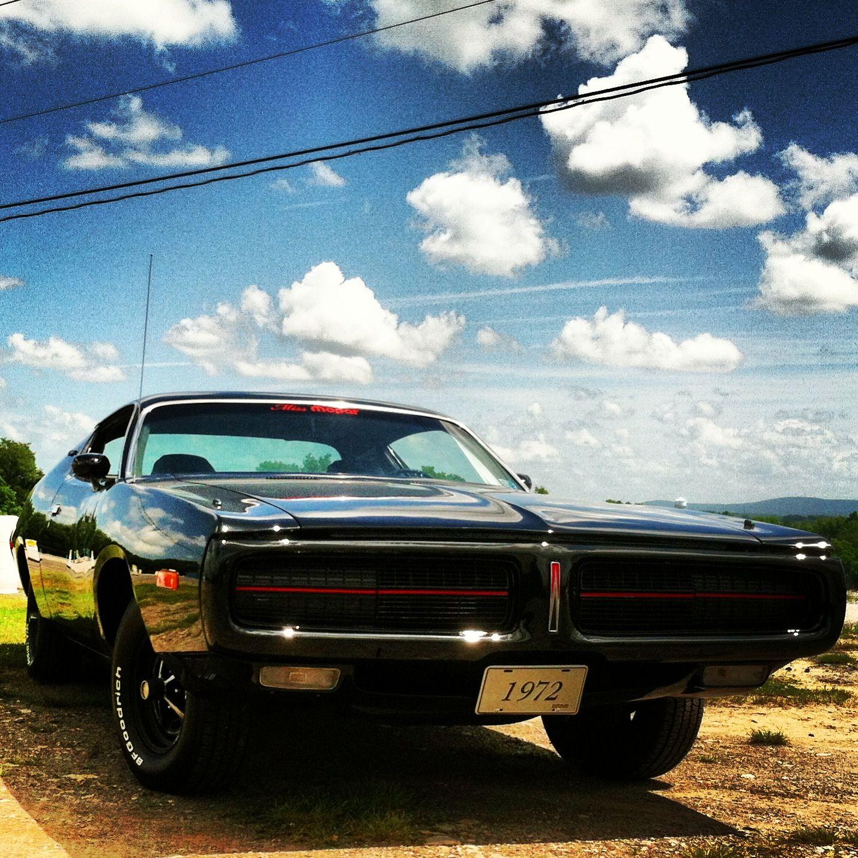 "Miss Mopar's 1972 Dodge Charger Aka ""The Little Black"