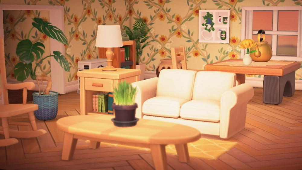 Pin on Animal Crossing New Horizons on Animal Crossing New Horizons Living Room Designs  id=46016