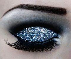 Sparkled blues