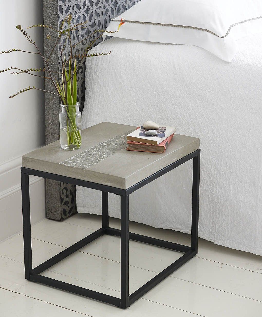 Carine Rectangular Side Table