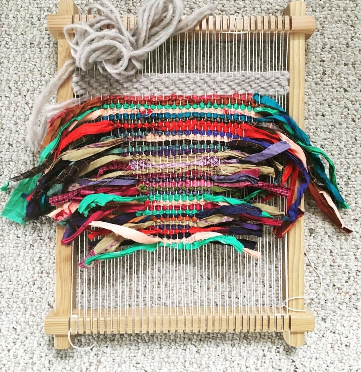 Weaving With Ribbon