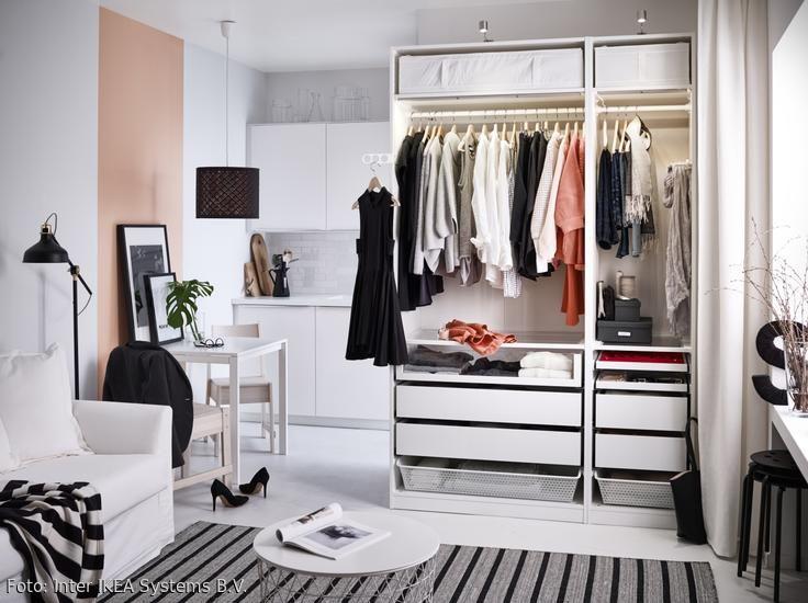 Kleiderschrank So Integrierst Das Stauraumwunder Ikea Kleiderschrank Gestaltung Kleiner Raume Schrank Umgestalten