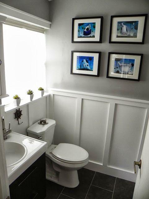 Bathroom Design, Wainscoting In Bathroom