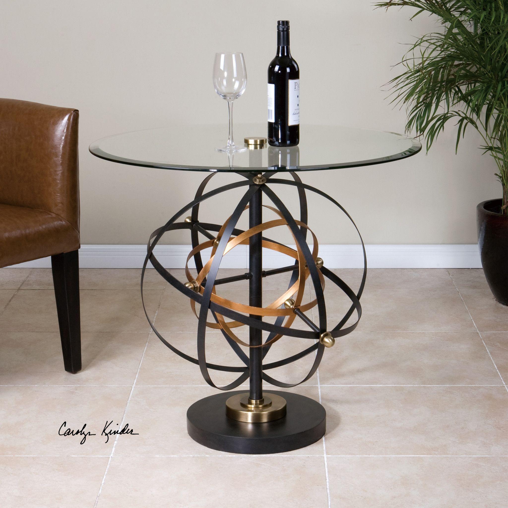 Uttermost Colman Sphere Accent Table | MOTION | Pinterest