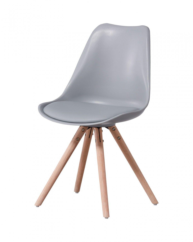 Schalenstuhl Alma Grau Esszimmerstuhle Stuhle Und