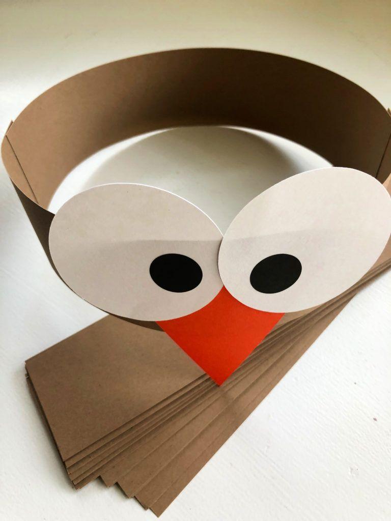 Turkey Paper Headbands